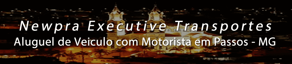 Aluguel de Veiculo com Motorista para o Transporte Executivo em Passos